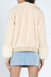 Honey Punch Faux Fur Bomber - Side cropped
