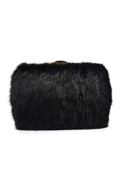 Shoptiques Product: Faux Fur Clutch