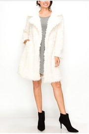 Kimberly C. Faux Fur Coat - Front cropped