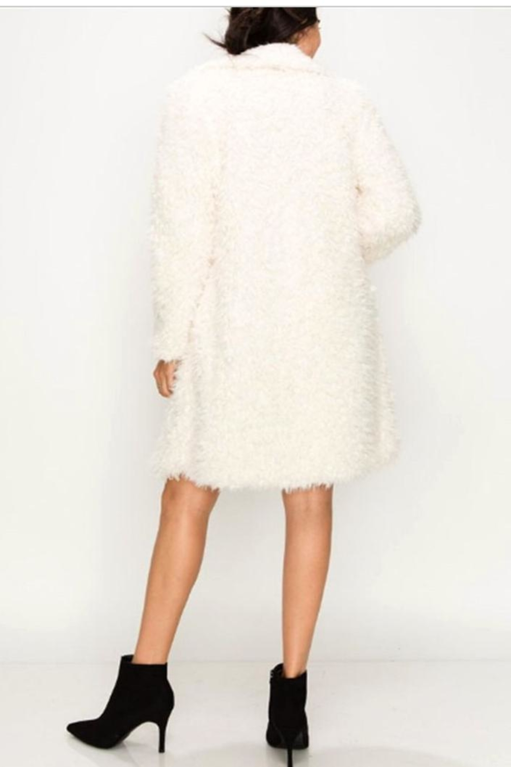 Kimberly C. Faux Fur Coat - Front Full Image