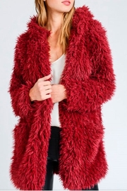 Lovetree Faux Fur Coat - Product Mini Image