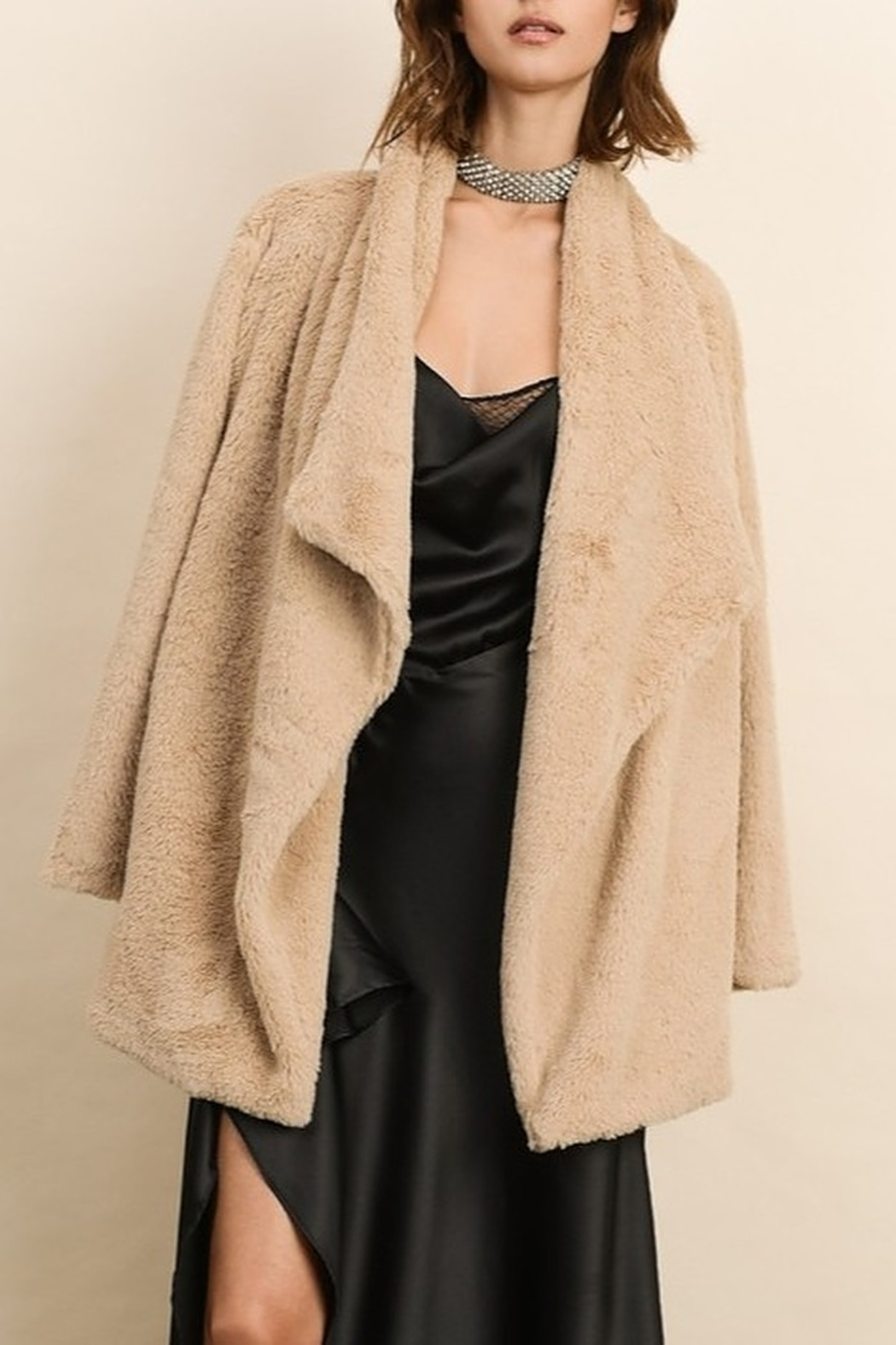 Dress Forum  Faux Fur Coat - Main Image