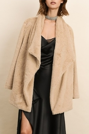 Dress Forum  Faux Fur Coat - Front cropped