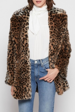 Joie Faux Fur Coat - Product List Image