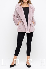 Lush Faux Fur Coat - Product Mini Image