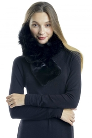 Cloie Faux-Fur Collar Scarf - Product Mini Image