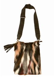 Ah!dorned Faux Fur Cross Body w Tassel - Product Mini Image