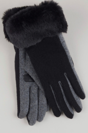 Echo Design Faux Fur Cuff Glove - Product Mini Image