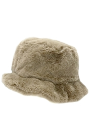 ANTONELLO SERIO Faux Fur Hat - Front full body