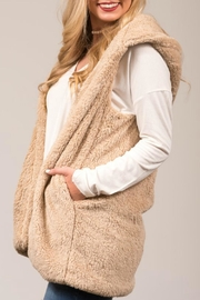 Favlux Faux-Fur Hooded Vest - Product Mini Image