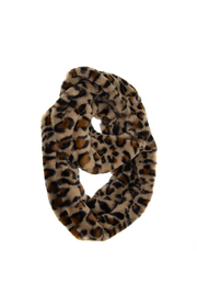 Joy Accessories Faux Fur Infinity Leopard Scarf - Product Mini Image