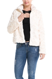 Mustard Seed Faux Fur Jacket - Product Mini Image