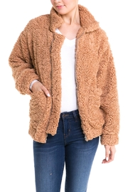 Silvergate Faux Fur Jacket - Product Mini Image