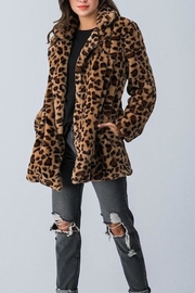 Love Tree Faux Fur Jacket - Product Mini Image