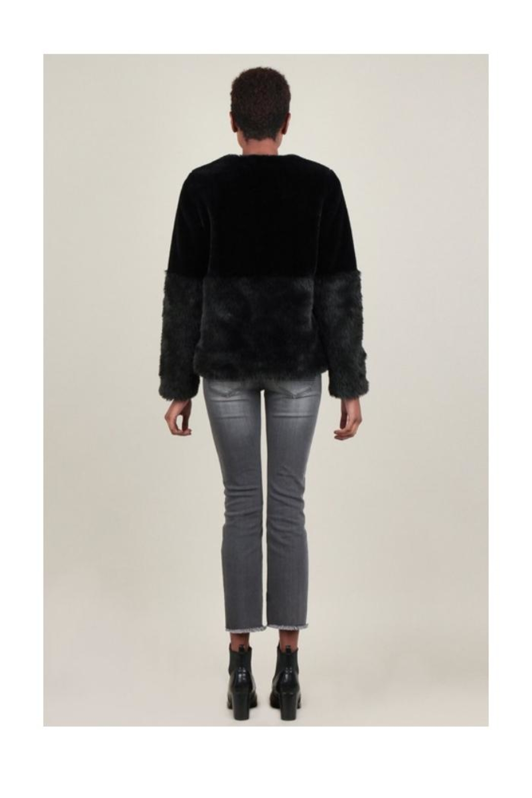 Current Air Faux Fur Jacket - Front Full Image