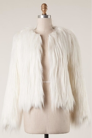 Fascination Faux Fur Jacket - Product Mini Image