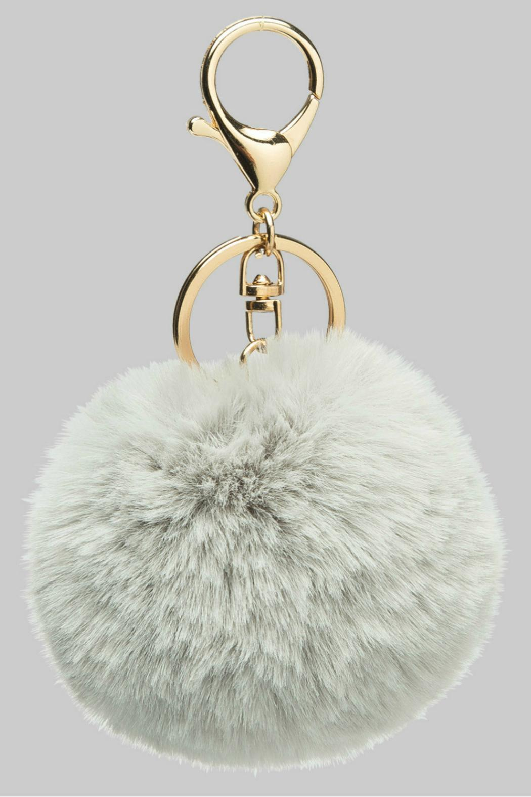 Faux Fur Keychain - Front Full Image