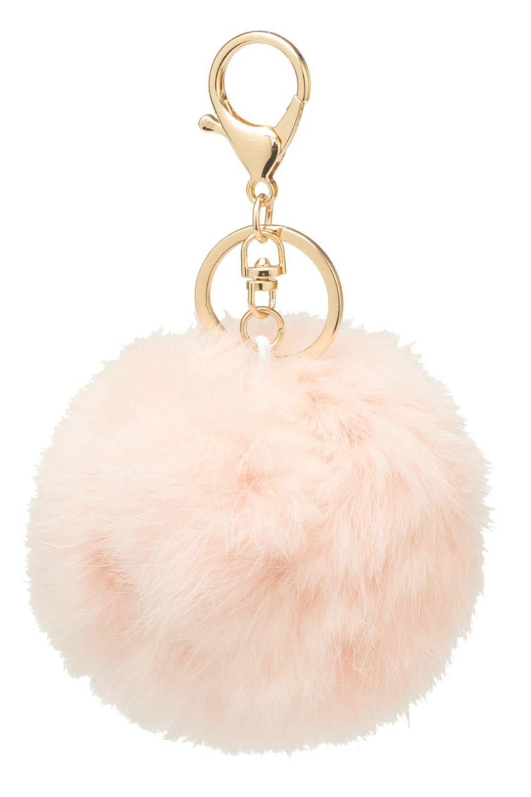 Faux Fur Keychain - Front Cropped Image