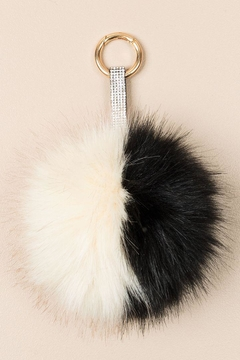 Pia Rossini Faux-Fur Keyring - Alternate List Image