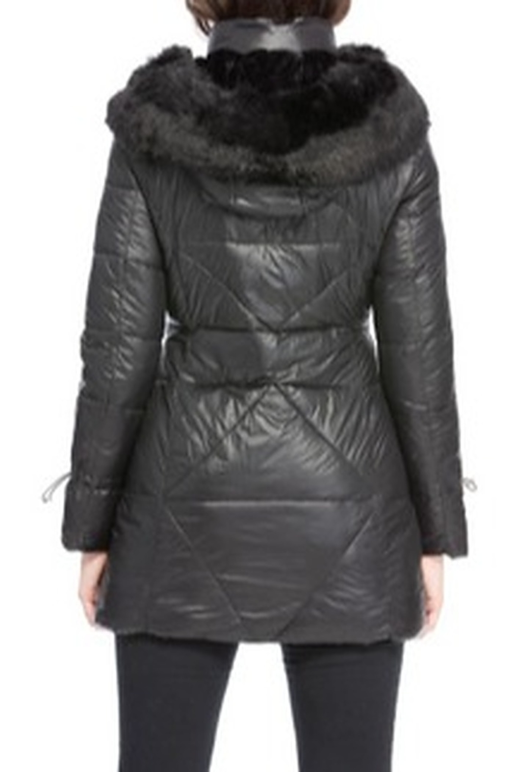 Coalition Faux Fur-Lined Coat - Front Full Image