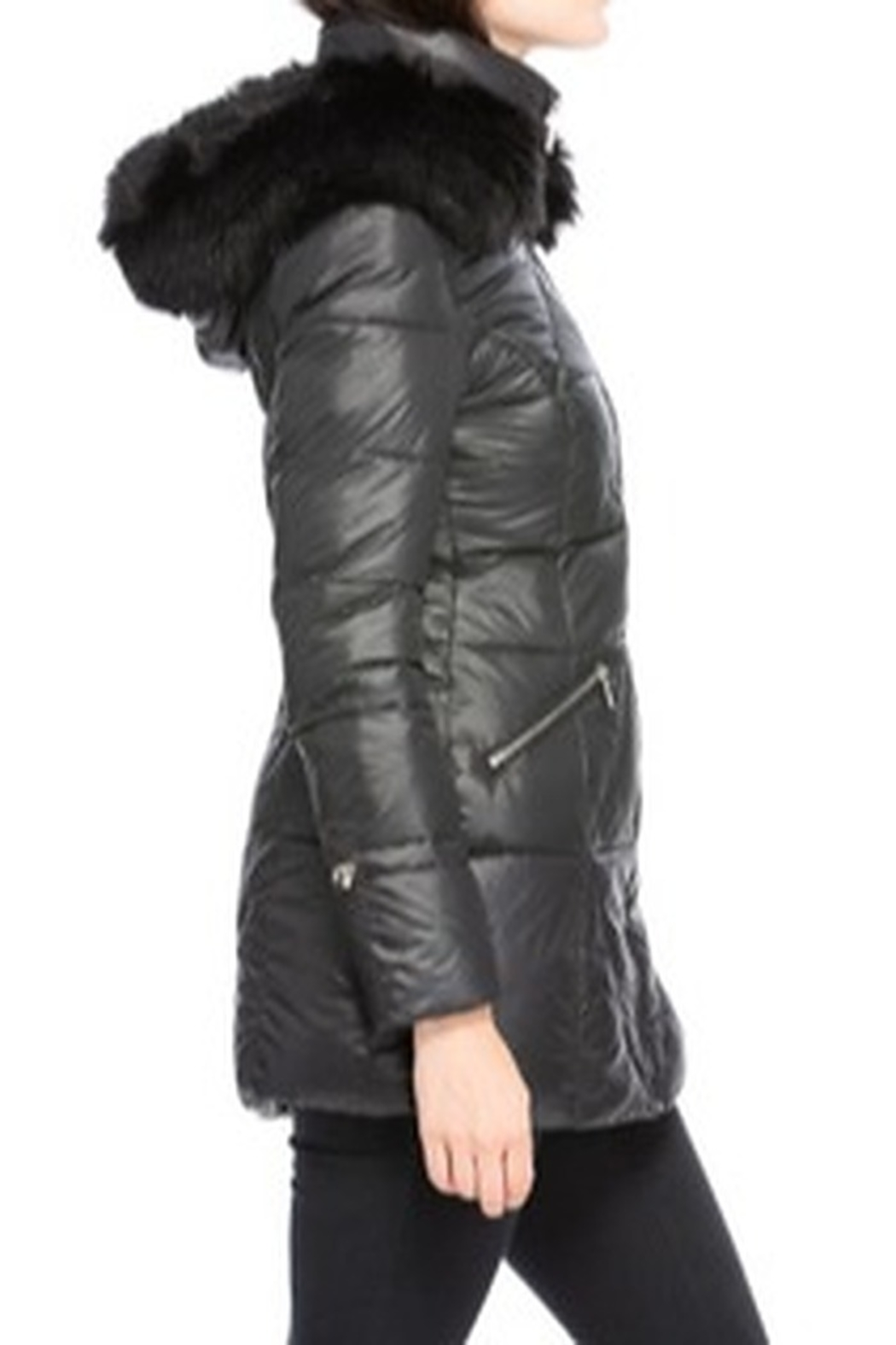Coalition Faux Fur-Lined Coat - Side Cropped Image