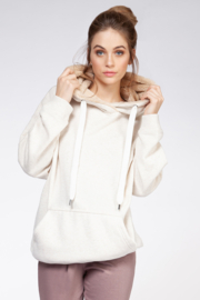 Dex Faux Fur Lined Hoodie - Product Mini Image