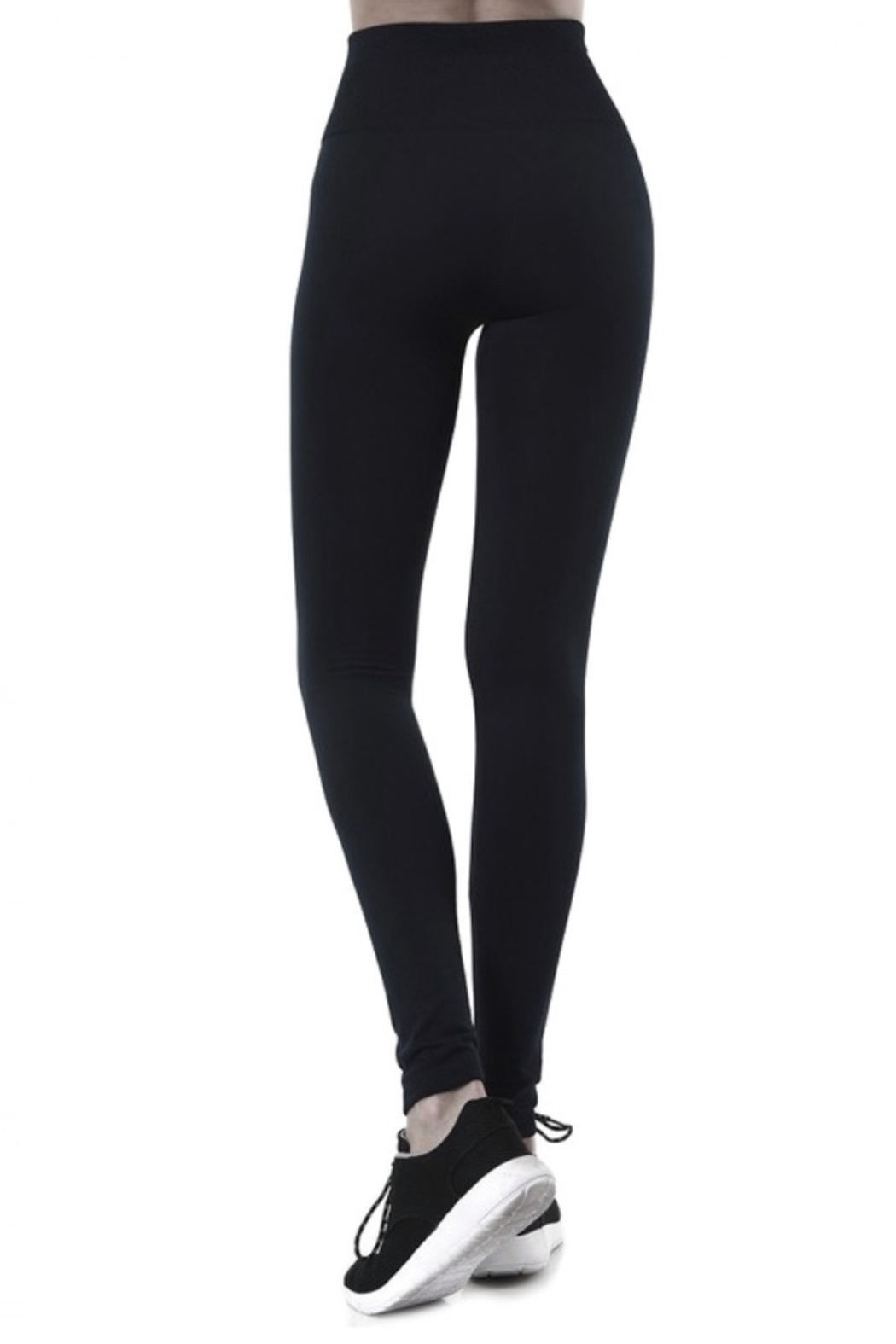 cjrose faux fur lined leggings - Front Full Image