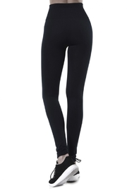 cjrose faux fur lined leggings - Front full body