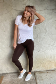cjrose faux fur lined leggings - Product Mini Image