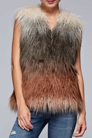 Love Stitch Faux Fur Ombre-Vest - Product Mini Image