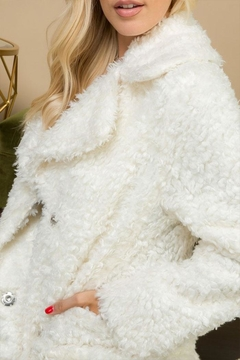 Shoptiques Product: Faux Fur Oversize-Jacket
