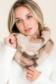 Lyn-Maree's  Faux Fur Plaid Scarf - Product Mini Image