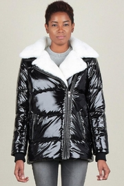 Current Air Faux Fur Puffer - Product Mini Image