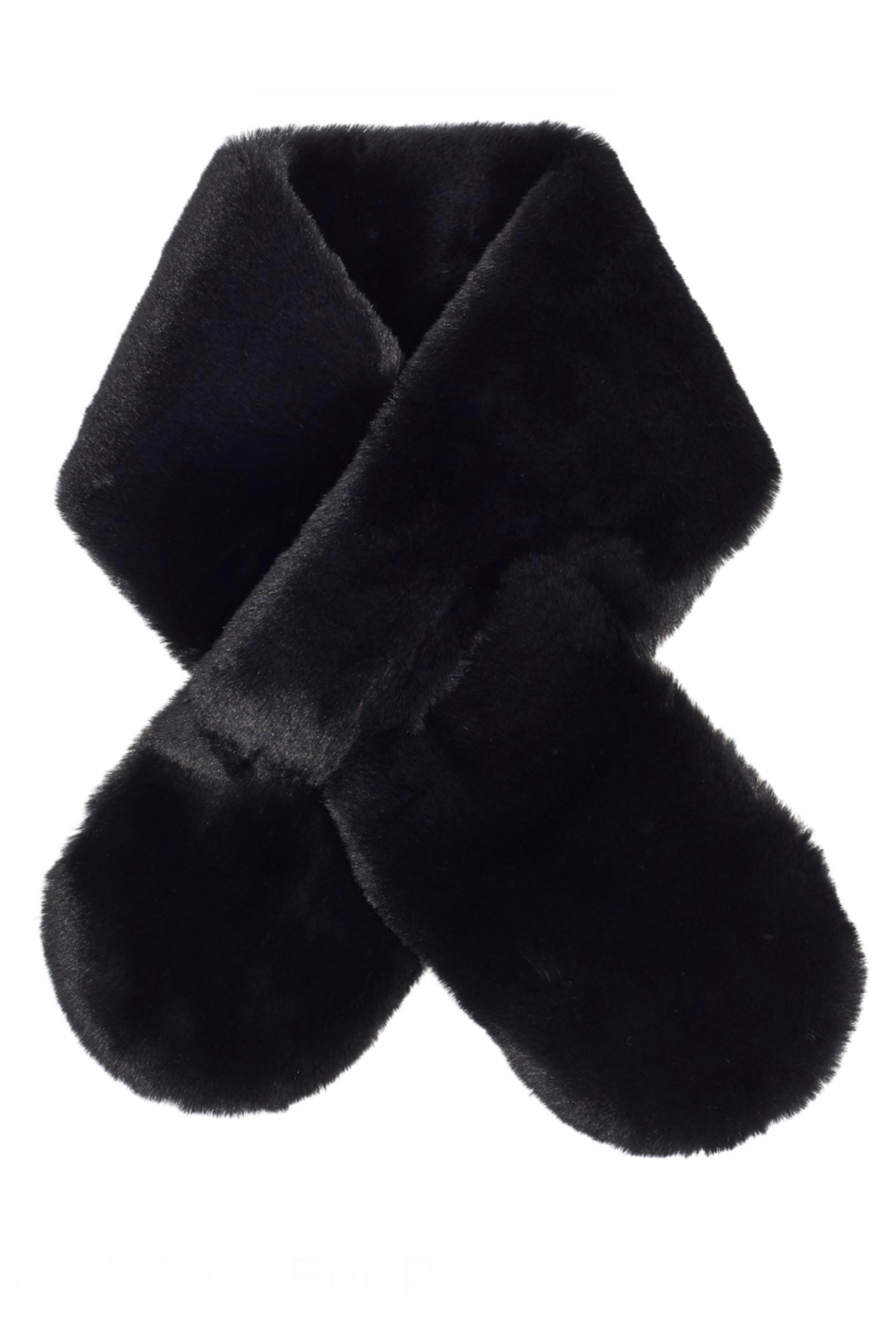 Echo Design Faux Fur Pull-Through Scarf - Front Cropped Image