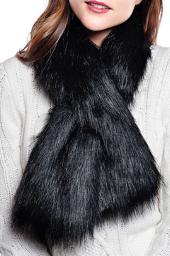 Fabulous Furs Faux Fur Pull Through Scarf - Product List Image