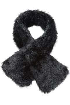 Fabulous Furs Faux Fur Pull Through Scarf - Alternate List Image