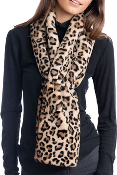 Fabulous Furs Faux Fur Scrunch Scarf - Product List Image