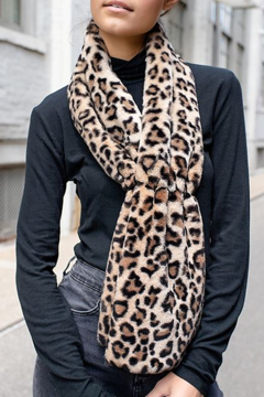 Fabulous Furs Faux Fur Scrunch Scarf - Alternate List Image