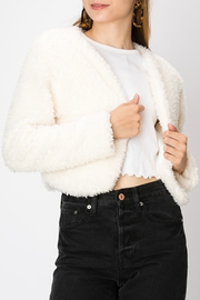 HYFVE Faux Fur Shrug - Product Mini Image