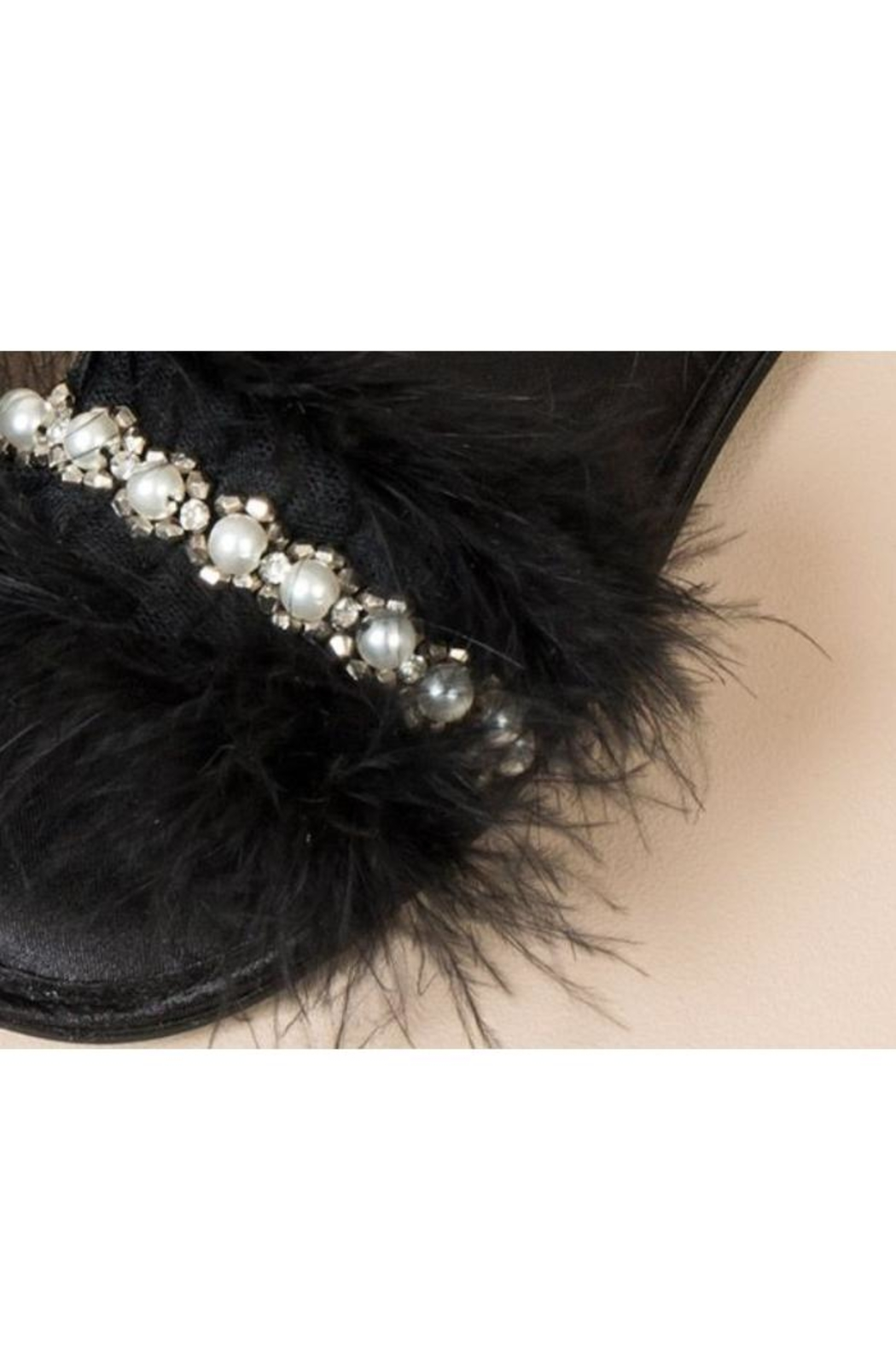 Pia Rossini Faux-Fur Slippers - Front Full Image