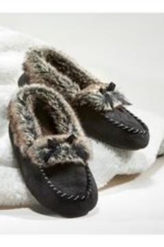 Charlie Paige Faux Fur Slippers - Alternate List Image