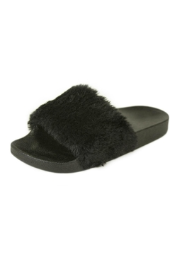 Shoptiques Product: Faux Fur Slippers