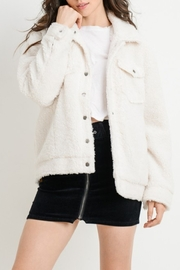 Cest Toi Faux Fur Trucker Jacket - Product Mini Image