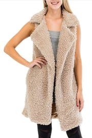 Godiva Faux Fur Vest - Product Mini Image