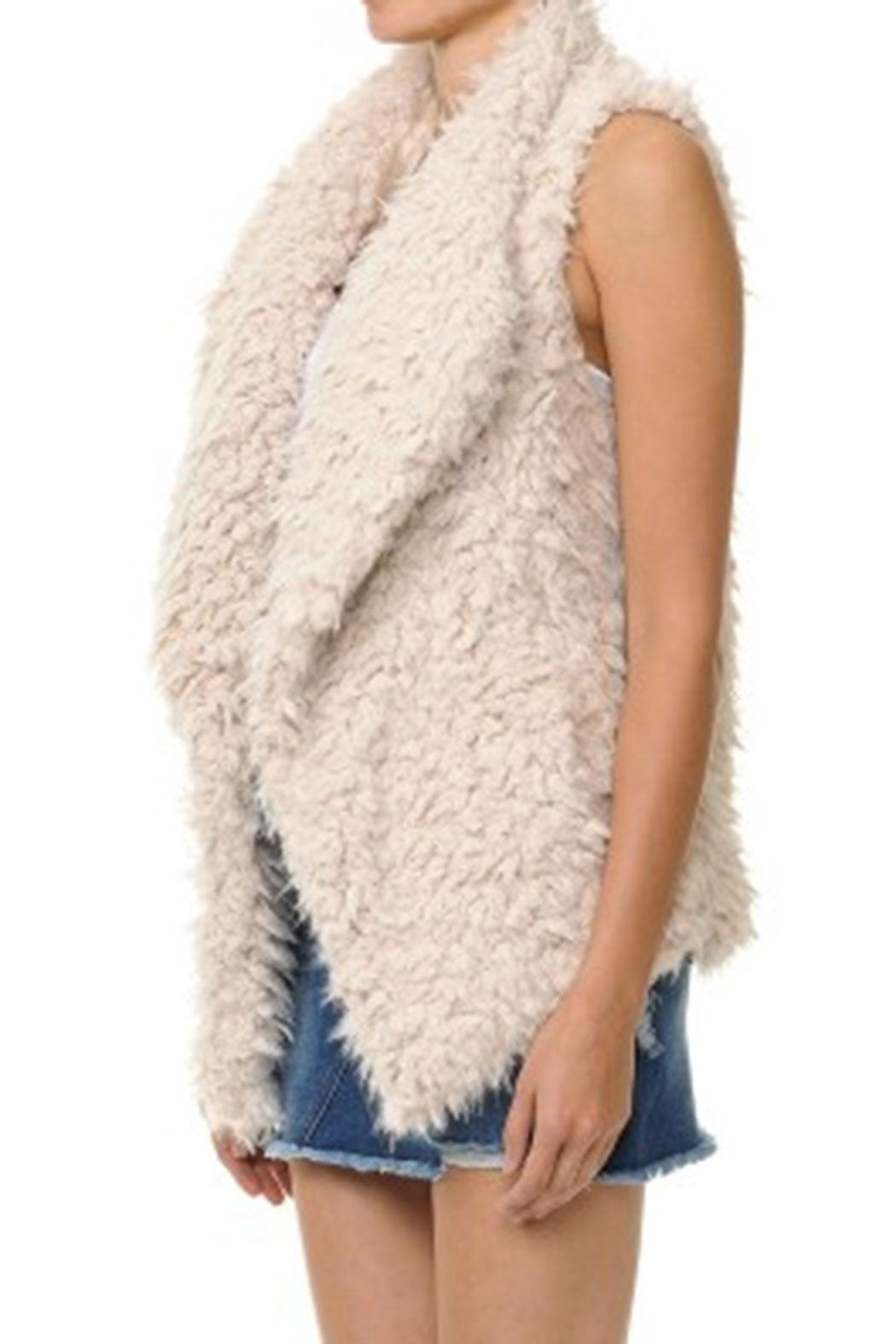 ambiance apparel Faux Fur Vest - Front Full Image