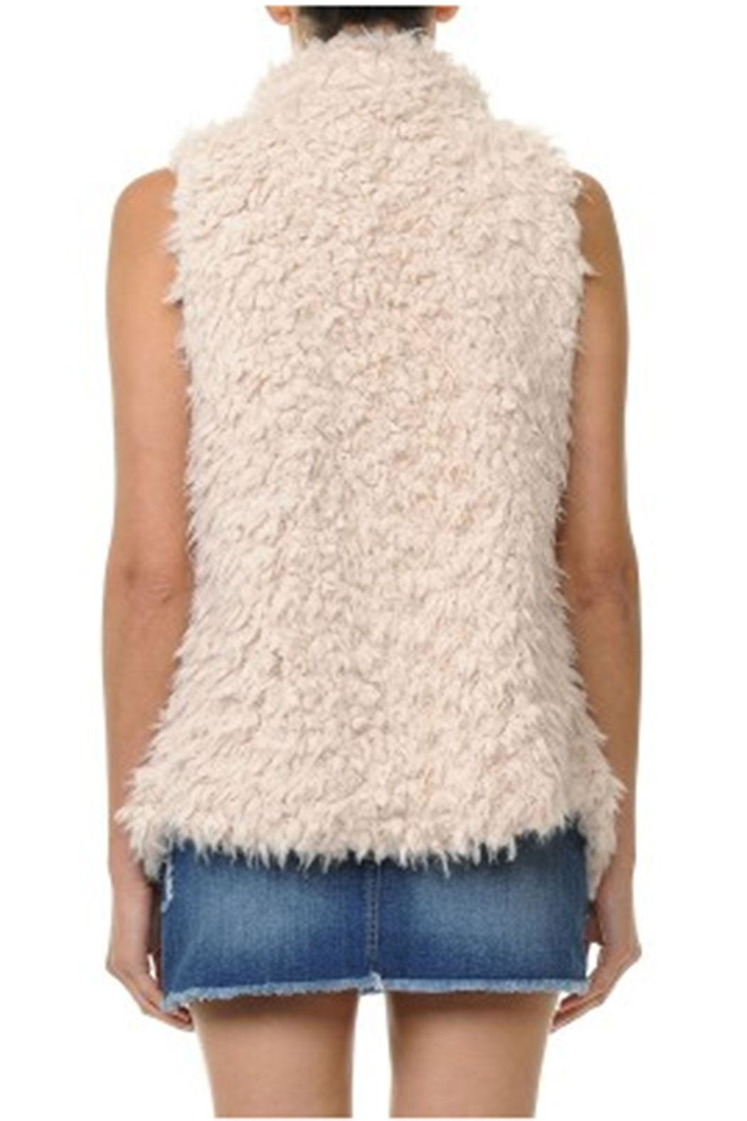 ambiance apparel Faux Fur Vest - Side Cropped Image