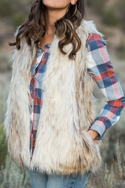 Grace & Lace Faux Fur Vest - Product Mini Image