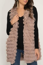 Abeauty by BNB Faux Fur Vest - Product Mini Image