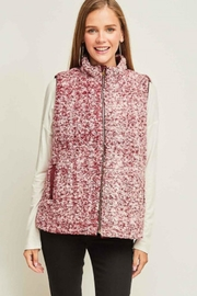 Entro Faux Fur Vest - Product Mini Image