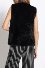 Sans Souci Faux Fur Vest - Front full body